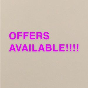 Other - OFFERS ARE OPEN!!💕💕🤩🤩